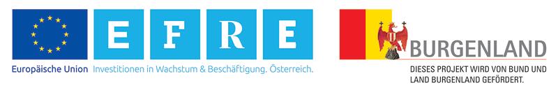 Europäische Union | EFRE Investitionen in Wachstum und Beschäftigung. Österreich. | Dieses Projekt wird von Bund und Land Burgenland gefördert
